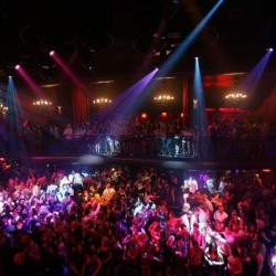 LAS VEGAS, NEVADA - AUGUST 31:  ***EXCLUSIVE***  A general view of atmosphere is seen at the grand opening of LAX Nightclub Las Vegas on August 31, 2007 in Las Vegas, Nevada.  (Photo by Chris Weeks/WireImage)