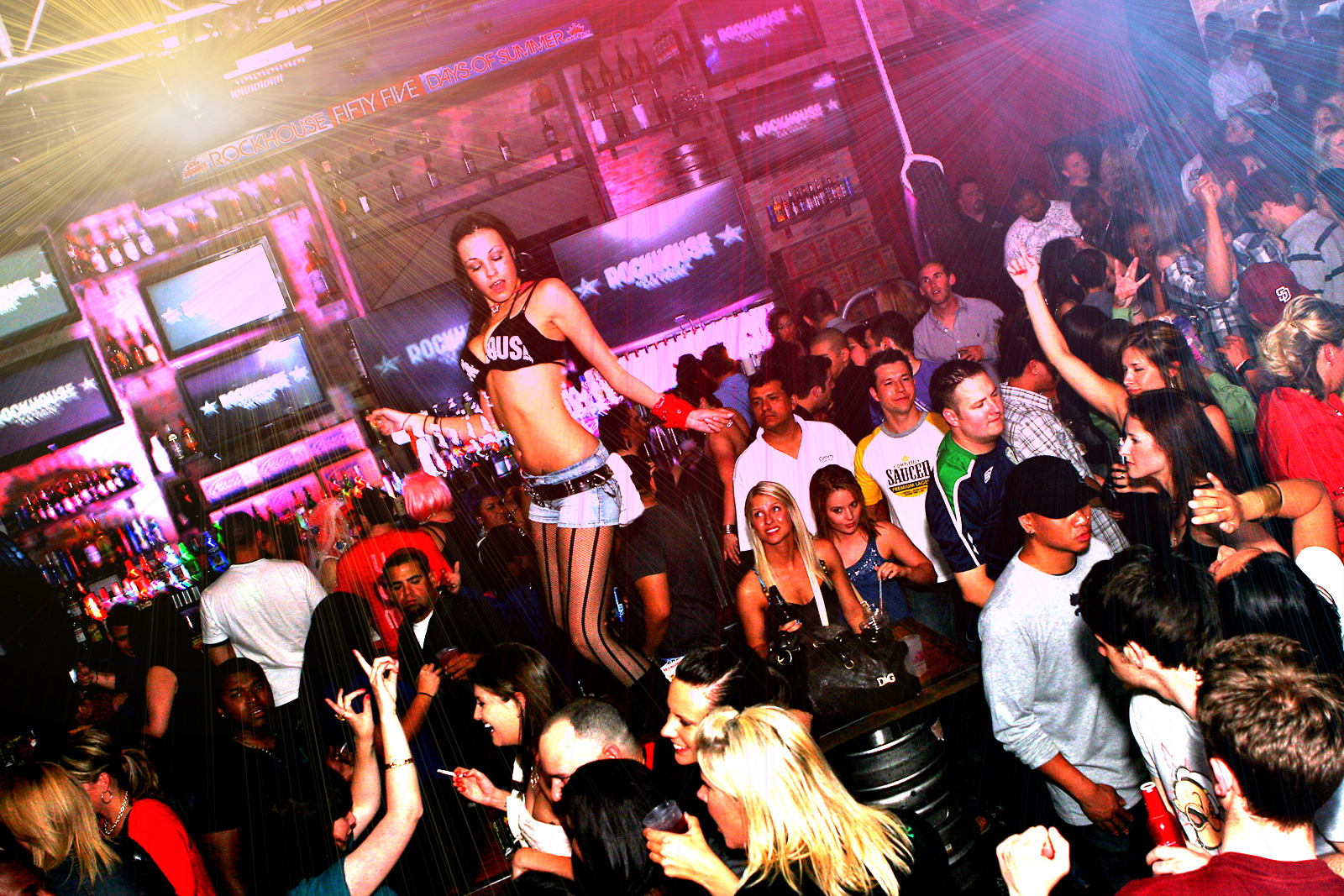 Party Las Vegas at Ghost Bar Day Club